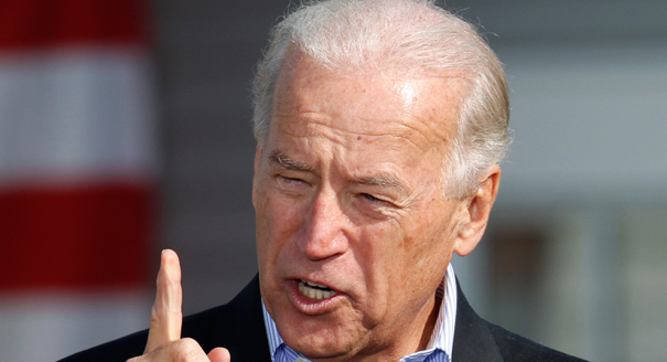 'Crazy' Biden would go down crying if he assaulted me