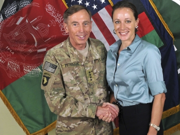 Obama's CIA director Petraeus and Broadwell