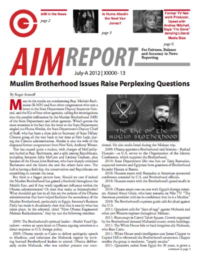 July A 2012 AIM Report