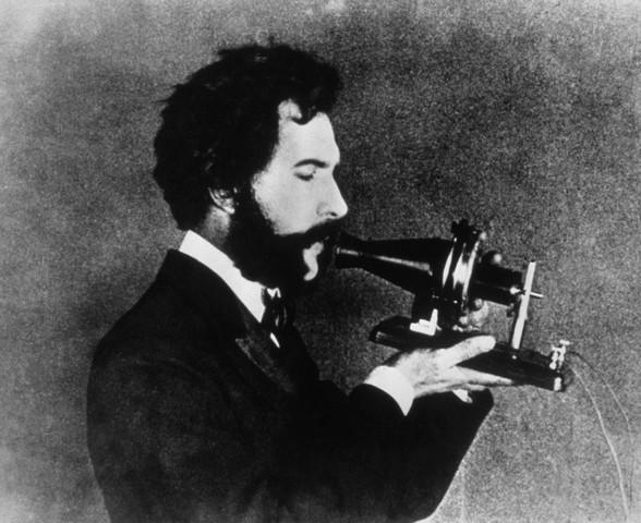 Why did Alexander Graham Bell invent the telephone?