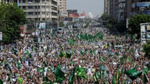 pakistan islamist rally