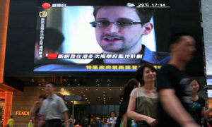 Edward Snowden escapes Hong Kong
