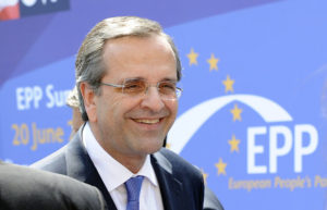 greek PM Samaras