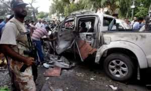 Karachi car bombing 10 July 2013