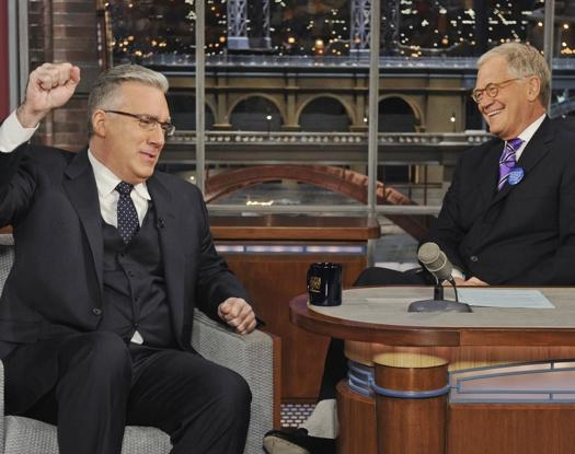 keith olbermann on letterman