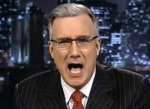 keith olbermann yell