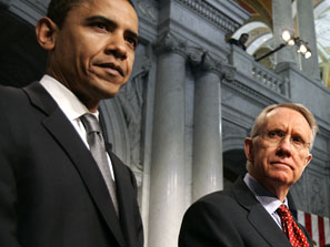 obama and harry reid