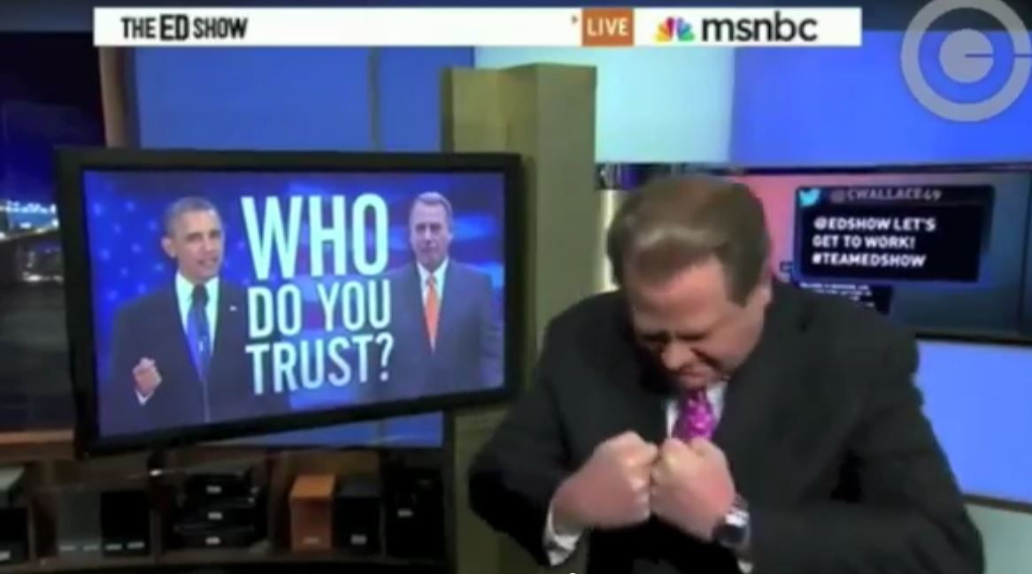 ed schultz media wants obamacare to fail
