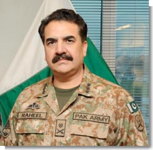 raheel sharif pakistan army chief