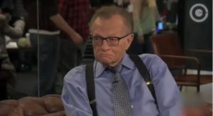 larry king cnn runs cartoons