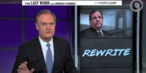 lawrence odonnell on chris christie