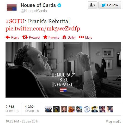 sotu house of cards