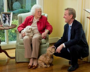 barbara bush and steve doocy