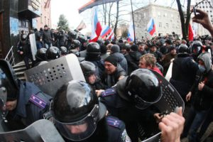 ukraine donetsk protests
