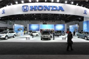 honda display
