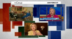 msnbc the cycle hillary book tour