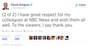 david gregory leaves mtp tweet 1