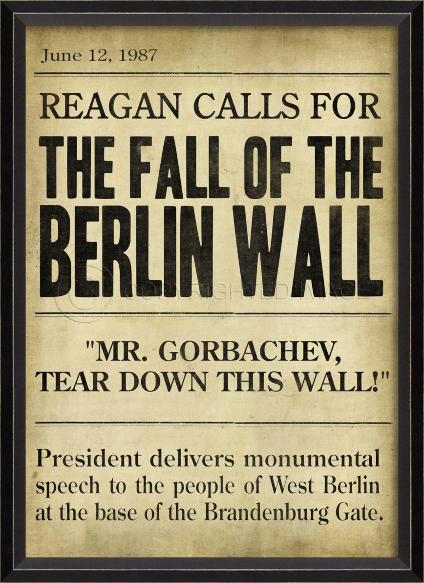 """the fall of berlin wall The fall of the berlin wall 25 years ago, heralding the end to the cold war  between east and west, showed the world """"dreams can come true""""."""
