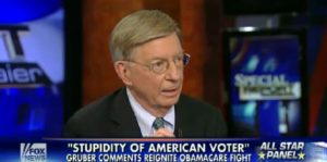 george will on gruber