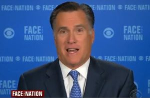 mitt romney on face the nation