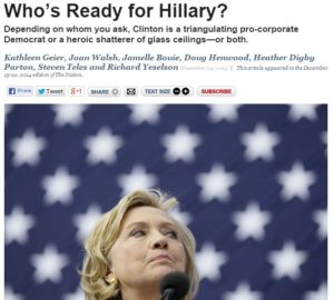 the nation hillary article