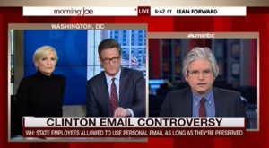 MSNBC Morning Joe w David Brock