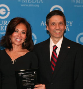 jeanine pirro at aim awards