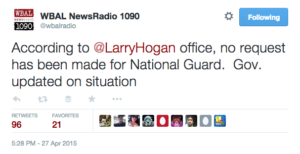 tweet national guard