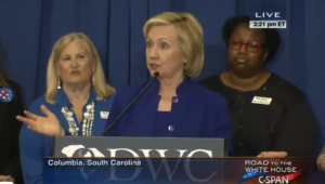 hillary clinton in south carolina 2
