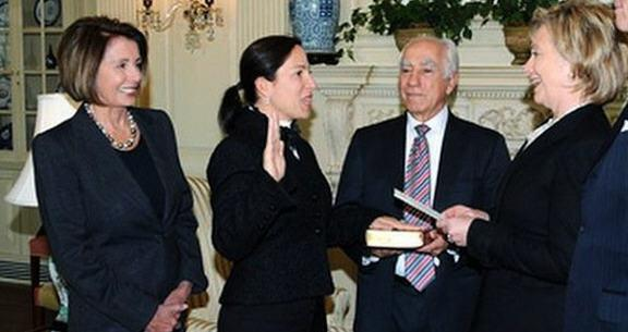 elene kounalakis and clinton