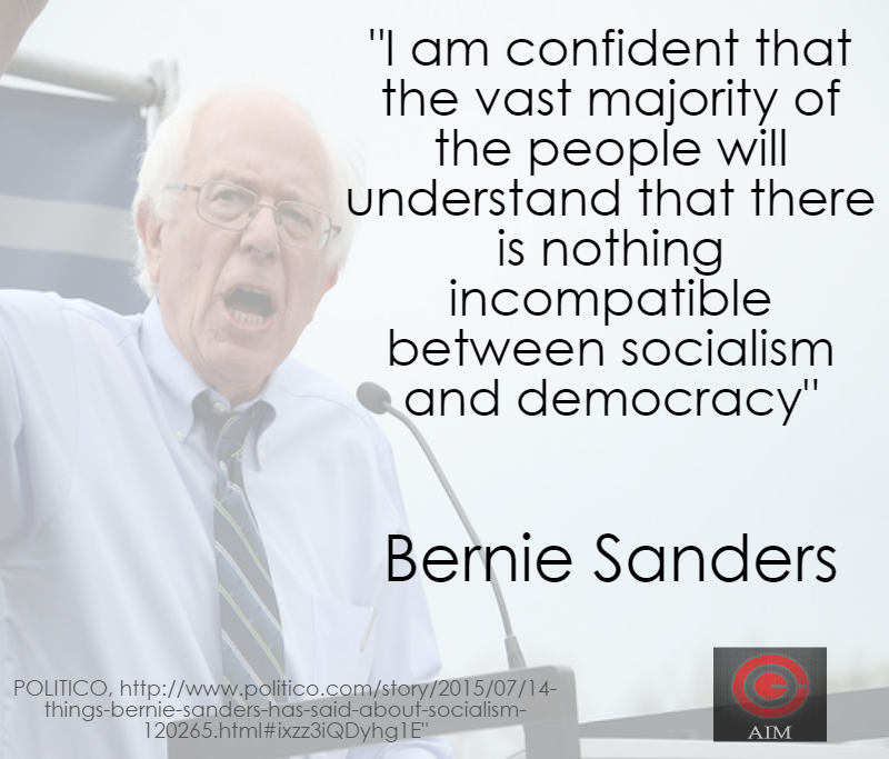 Bernie Sanders Socialism and Democracy