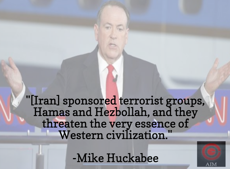 Mike Huckabee Reagan Library