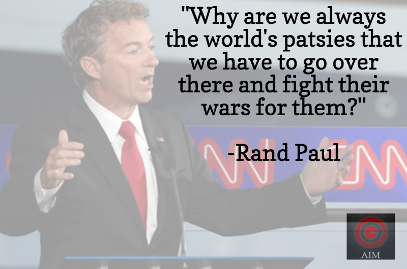 Rand Paul Reagan Library