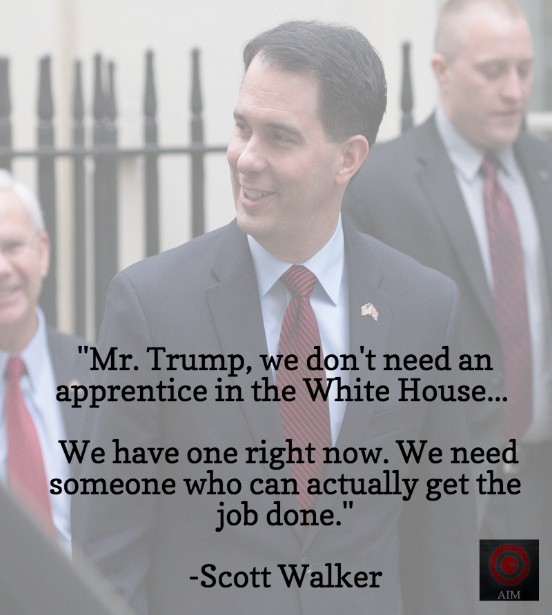 Scott Walker Apprentice