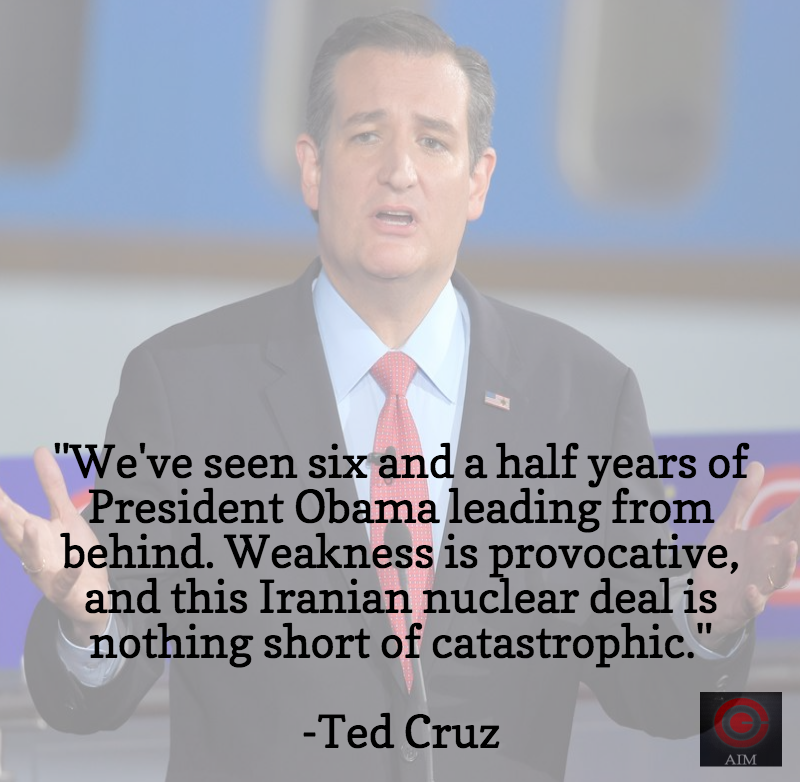 Ted Cruz Iran Deal