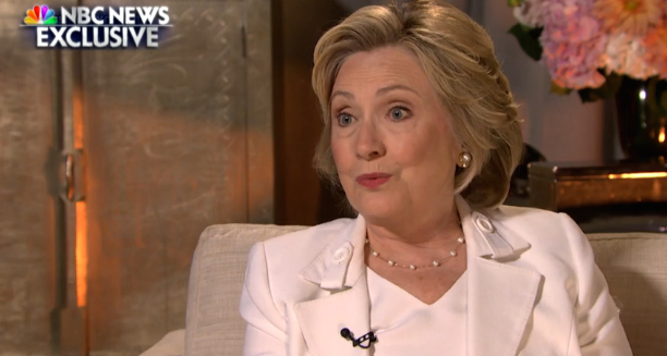 andrea mitchell interviews hillary clinton