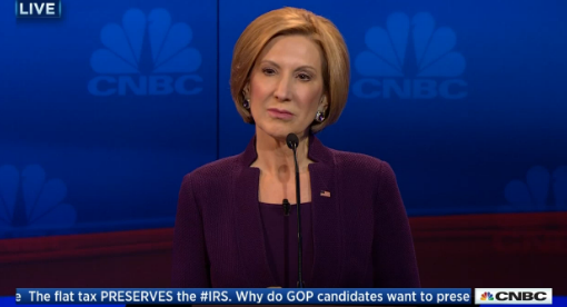 carly fiorina cnbc gop debate