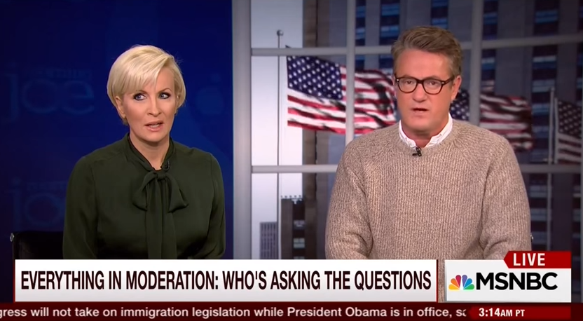 morning joe on liberal media bias