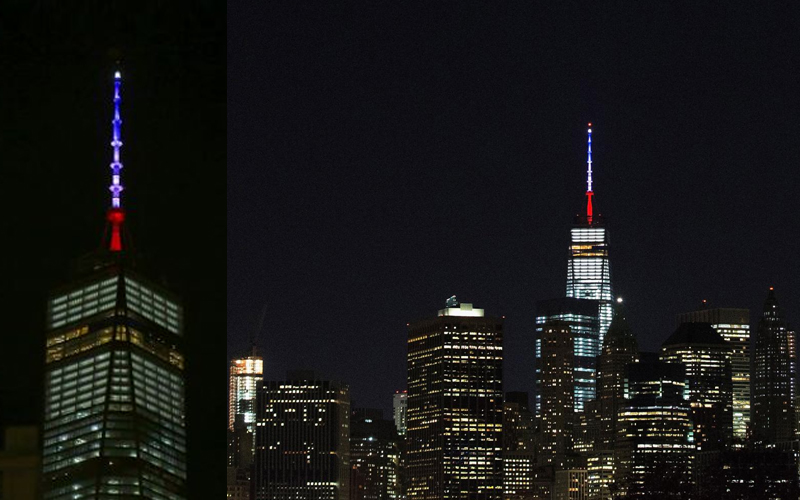 wtc, empire state support paris