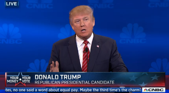 donald trump cnbc gop debate