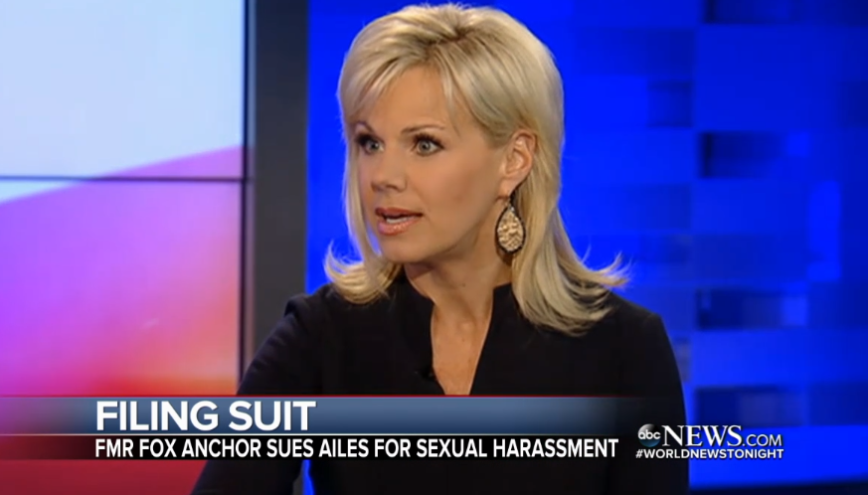 Ex-Fox News Anchor Gretchen Carlson Files Sexual Harassment
