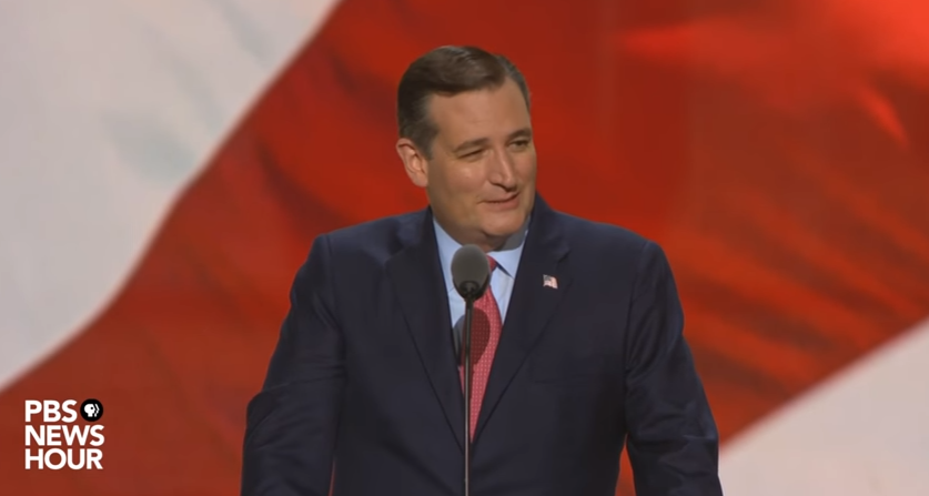 Ted Cruz Praised, then Booed after Not Endorsing Trump at ...