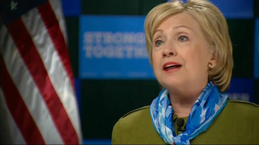 hillary clinton doubles down on claim that fbi said she was truthful