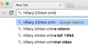 google-hillary-search