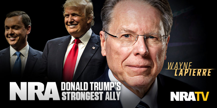 Image result for trump and lapierre