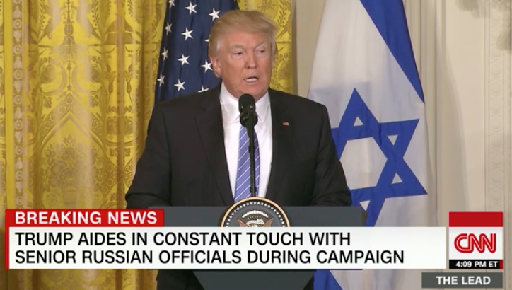Trump cheers his own epic press-conference rant against the media