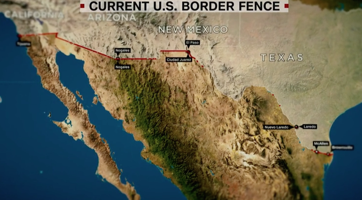 Border Wall Or Border Fence Cnn Notes Difference Of Opinion Between Trump Government Experts