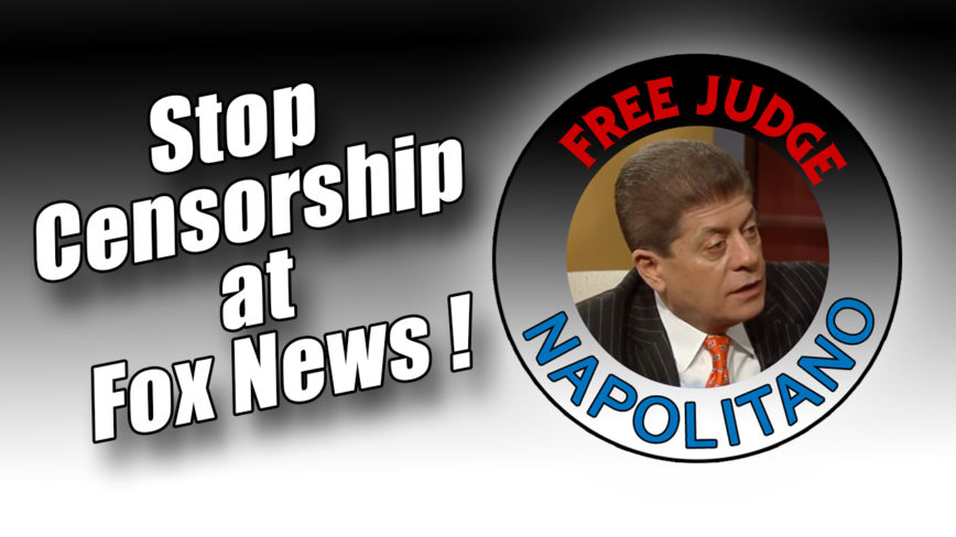 Free Judge Napolitano!