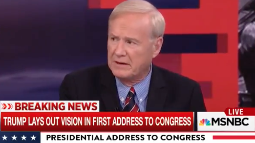 target blog chris matthews criticized trump taking blame yemen raid that navy seals death