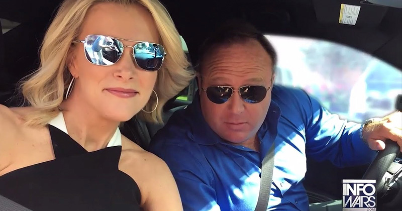 Megyn Kelly No Longer Hosting Sandy Hook Benefit Over Alex Jones Interview